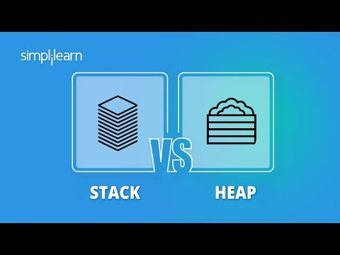 Stack vs Heap Memory | Stack And Heap In C | C Tutorial For Beginners | Simplilearn