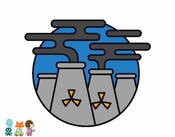 Dibujo De Energía Nuclear Pintado Por Osobal En Dibujosnet El Día