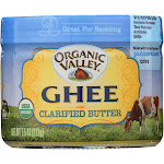 Organic Valley Ghee Clarified Butter | 7.5 oz Solid Oil