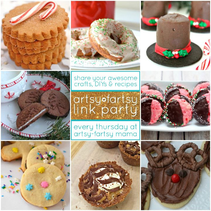 8 Cookie Party Recipes Featured at artsyfartsymama.com