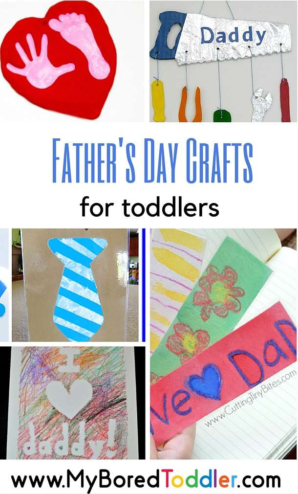 Father's Day Crafts for Toddlers by My Bored Toddler
