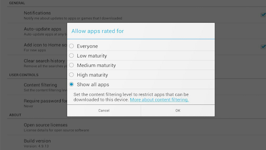 How to Set Parental Controls in the Google Play Store