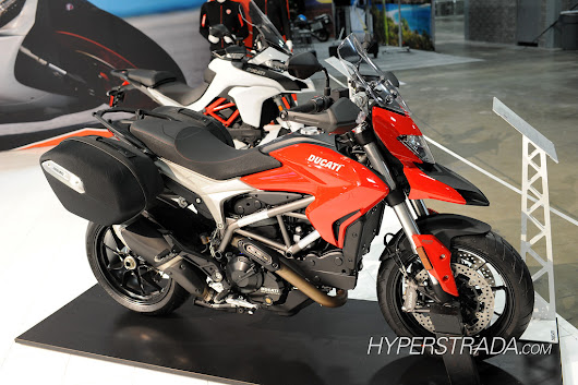 2015 Ducati Hyperstrada Pictures - International Motorcycle Show - Ducati Hyperstrada Forum
