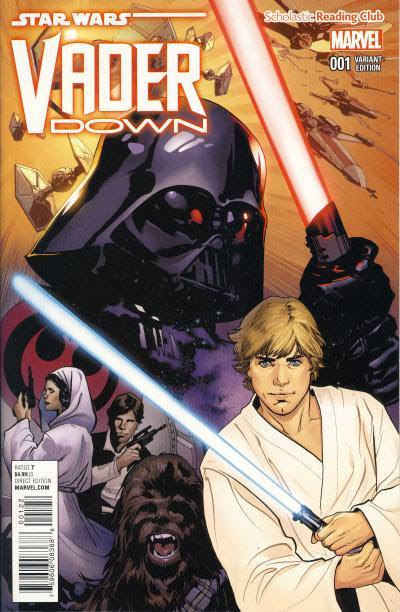 Modern Marvel: Star Wars: Vader Down #1 and Star Wars: Han Solo #1 Scholastic Reading Club Exclusives