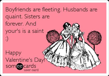 Enjoy Your Day Sister Dear Save Dreamer Vintage Valentine Image