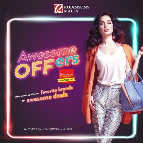 Robinsons Malls' Awesome OFFers is back with more exclusive discounts, treats, and freebies