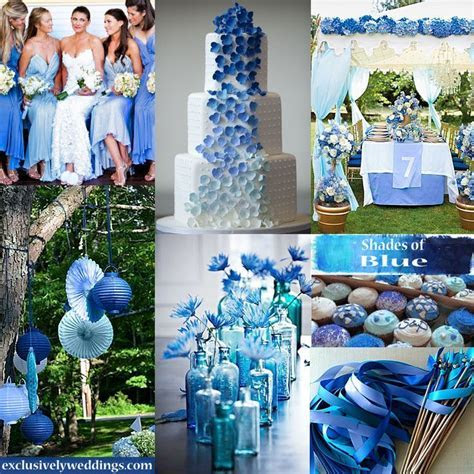 1000  images about Shades of Blue   Wedding Theme on