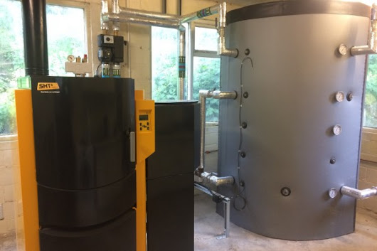 Wood Pellet & Log Biomass Boiler For Sheffield Home