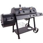 Oklahoma Joe's Charcoal/Gas/Smoker Combo