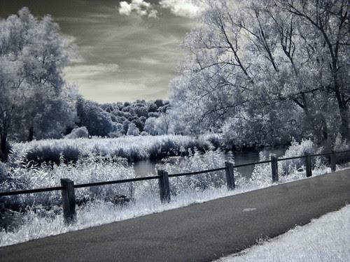 Infrared River Avon