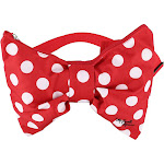 Disney Minnie Mouse Polka Dot Bow Fanny Waist Pack - Red one size