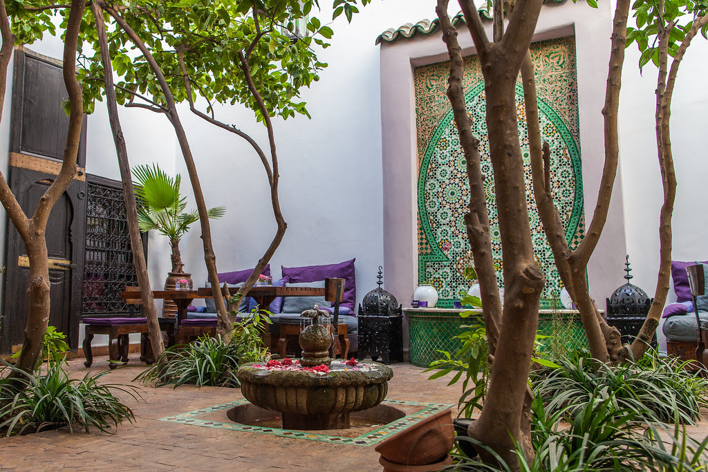 Morocco Maroc - Marrakech - Riad Houdou - Photo Image Photography