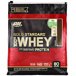 Optimum Nutrition Gold Standard 100% Whey Protein, 80 Servings, Vanilla