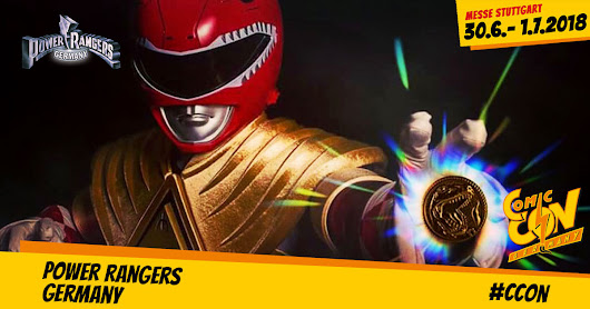 Power Rangers Germany - CCON | COMIC CON GERMANY