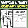 FREE! Financial Literacy Vocabulary Posters