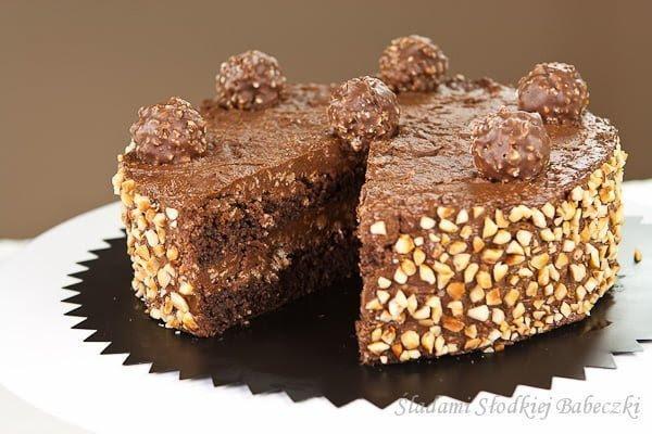Image result for ferrero rocher cake