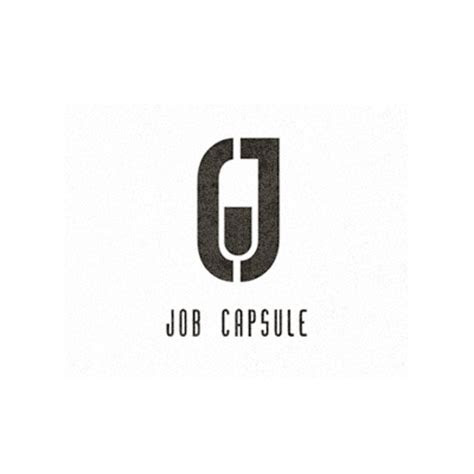 job capsule logo logo design gallery inspiration logomix