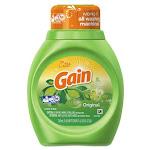 Liquid Laundry Detergent, Original Fresh, 25oz Bottle, 16 bottles