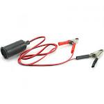 HobbyZone HBZ6513 Alligator CLIP: 12V Lighter Adapter