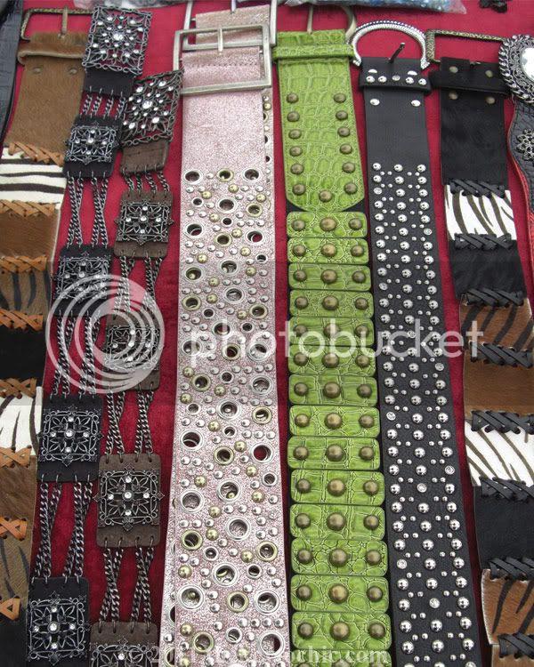 Ventura Flea Market belts