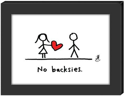 No backsies.   Unique Stick Figure Art by Hearts and All