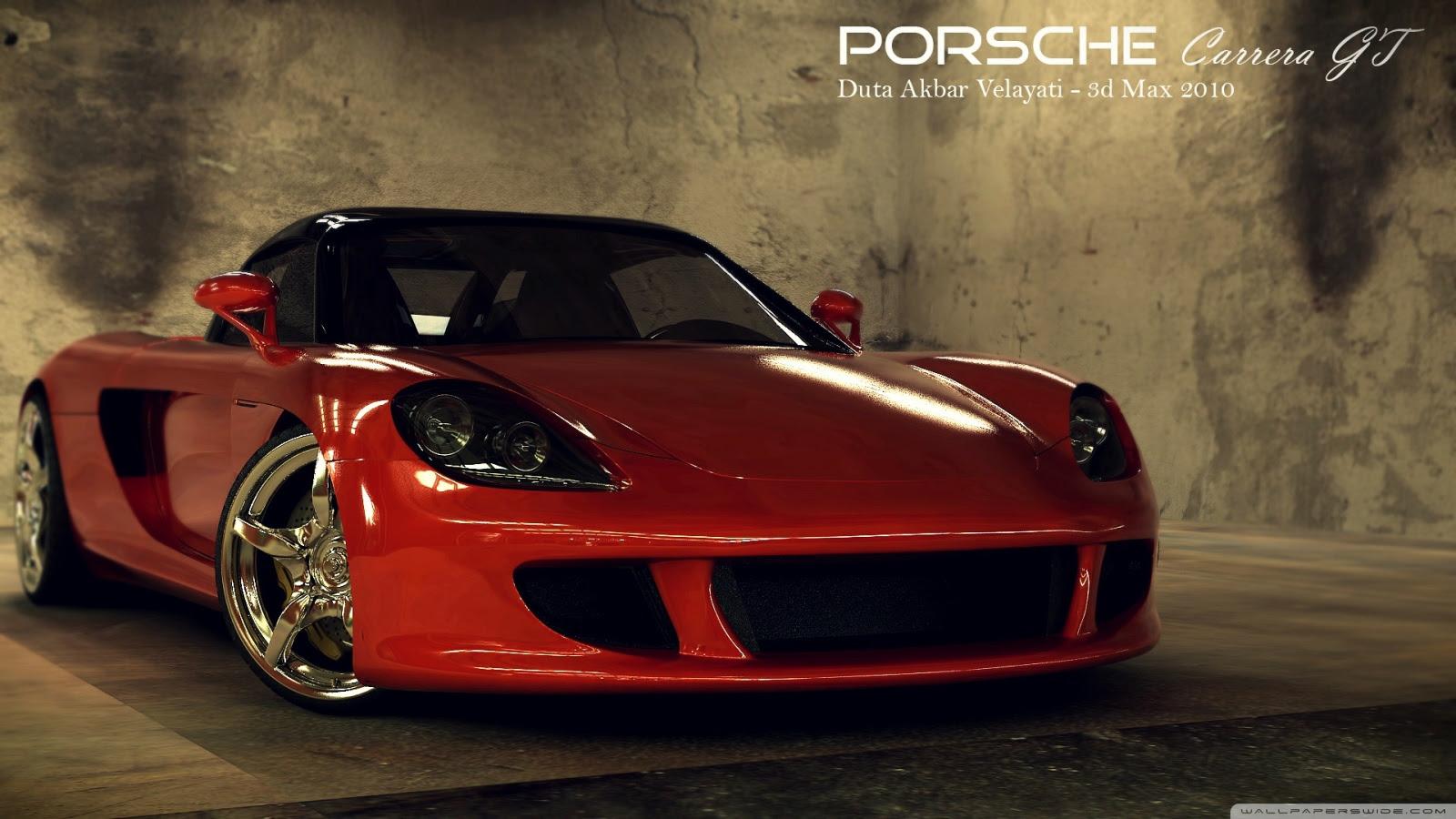 Amazing Porsche Carrera Gt Red Wallpaper Hd Mega Wallpapers