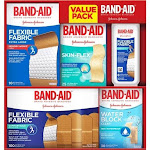 Band-Aid Brand Active Lifestyles Variety Pack Adhesive Bandages (173 Count)