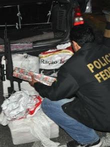 Droga foi encontrada em fiscalizações de rotina da PRF