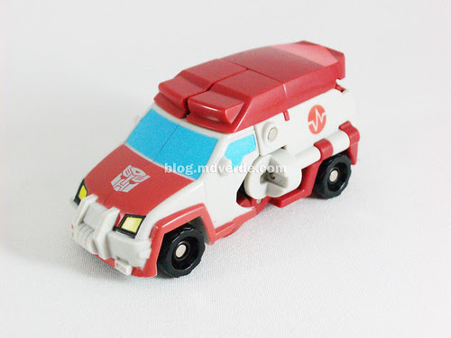 Transformers Ratchet Animated Activators - modo alterno