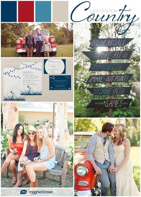 Labor Day Wedding Colors & Inspiration   Truly Engaging
