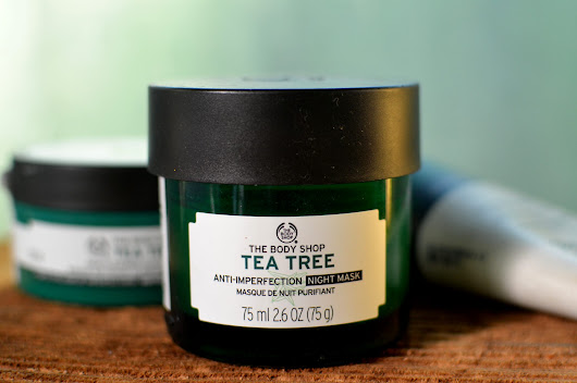 The Body Shop Tea Tree Anti-Imperfection Night Mask Review - Presented By P