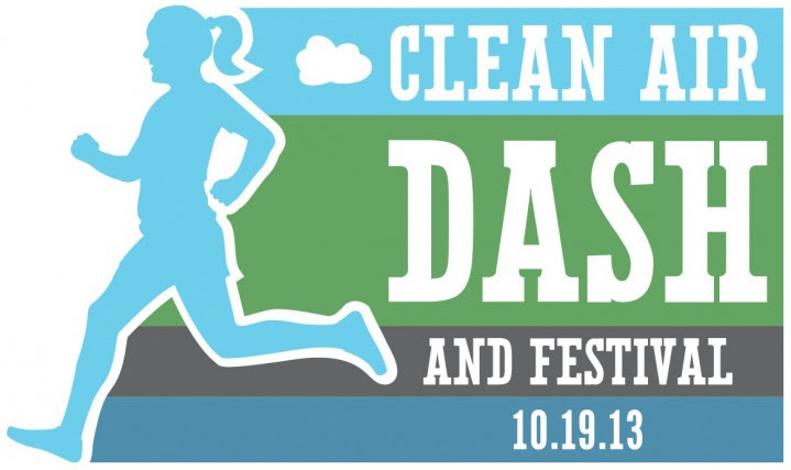 Clean Air Dash and Festival 10-19-13 Logo Cut Border