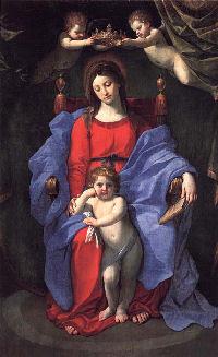 Guido Reni: Dziewica na tronie z Dzieciątkiem