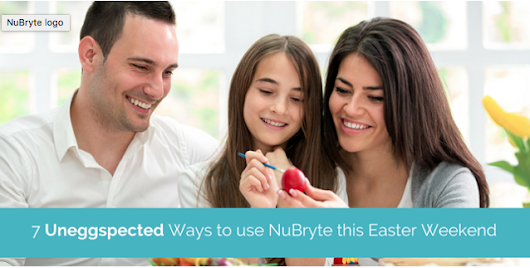 7 Uneggspected Ways to use NuBryte Smart Home Tech this Easter Weekend | Smart Home Automation | NuBryte