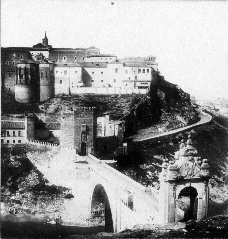 Puente de Alcántara (Toledo) antes de 1864