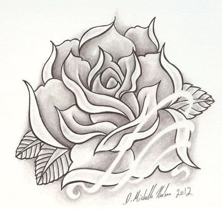 Free Heart And Rose Drawings In Pencil Download Free Clip Art Free