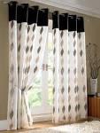 contemporary curtain design | 2013 AllHomeDecors.