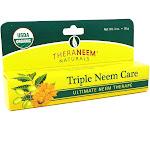 Organix South Triple Neem Ointment Organic Salve Fragrance Free (Carton) 1oz
