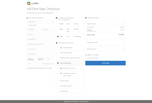 [Magento 2] UB One Step Checkout | Magento 2 One Step Checkout User Guide by UberTheme | UberTheme