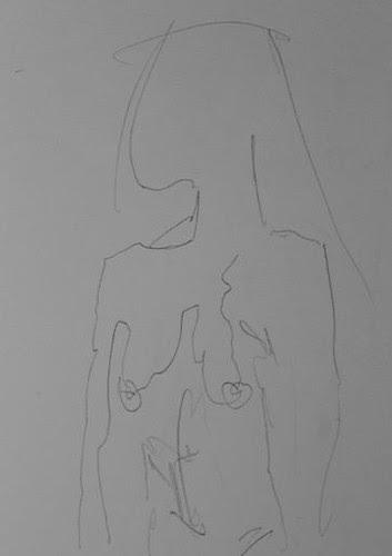 woman by Joan Kamberai