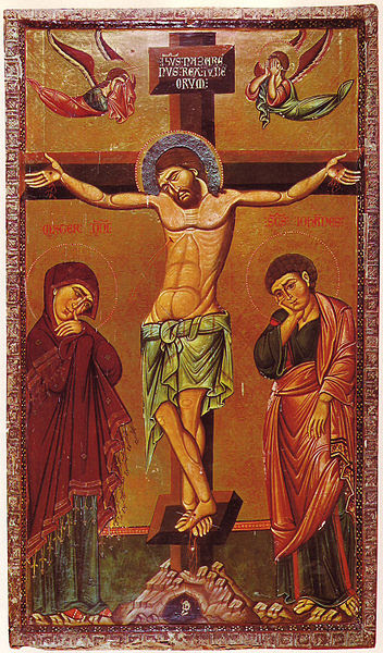 File:Crucifixion Icon Sinai 13th century.jpg