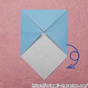 折り紙 妖怪ウォッチブシニャンの折り方 キャラクター折り紙com