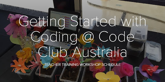 Getting Started with Coding @ Code Club Australia