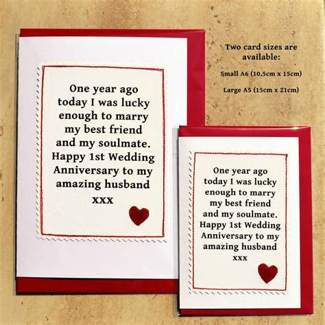 handmade first anniversary card by jenny arnott cards