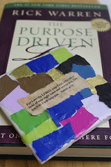 purpose driven life with Rick Warren Book Cover