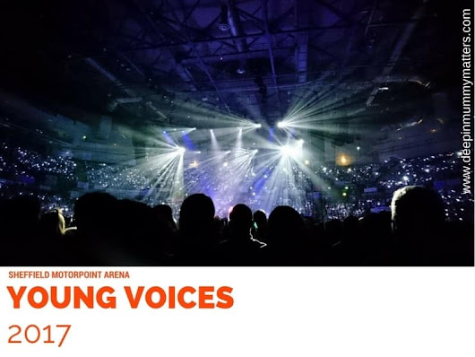 Little Bean and the Young Voices Choir at Sheffield - Mummy Matters