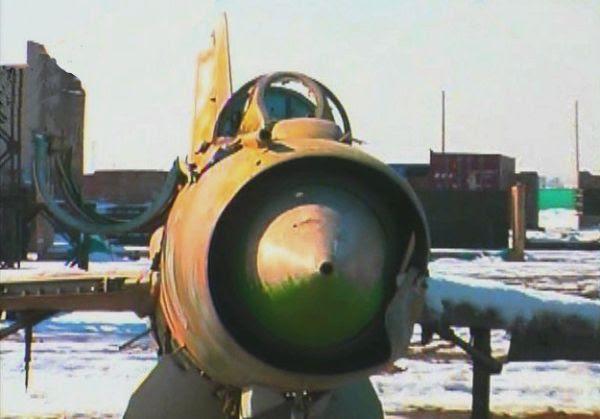 Mig-21 abandonado em Baghram-Afeganistkão