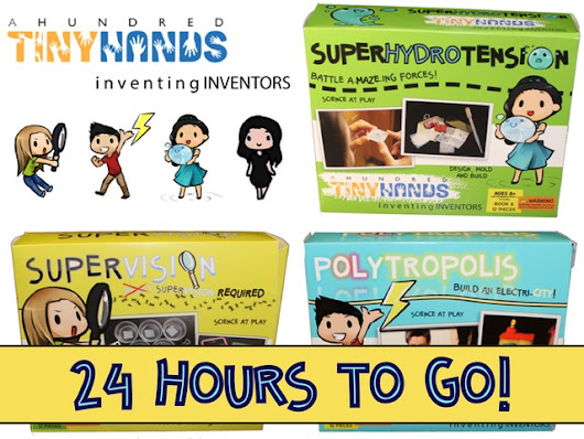 A Hundred Tiny Hands:  Toys for Your Brilliant Lil' Inventor