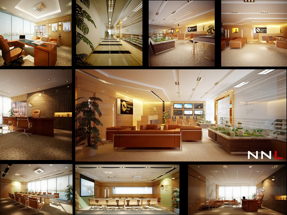 luxury office space | Interior Design Ideas.