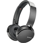 Sony MDR XB650BT Bluetooth Wireless Over-Ear Headphones with Mic and NFC - Black